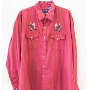 Other - VINTAGE Blair Button Up Western Embroidery